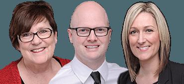 Susan Molenhuis, Gary Van Bakel & Julie Munford
